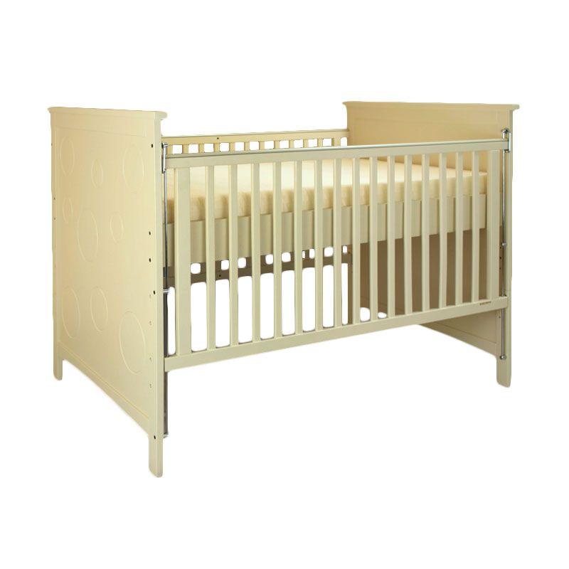 Babybelle - Hanz Crib Ivory [ Khusus Area Jabodetabek ]