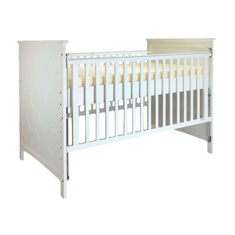 Babybelle - Hanz Crib Off White [ Khusus Area Jabodetabek ]
