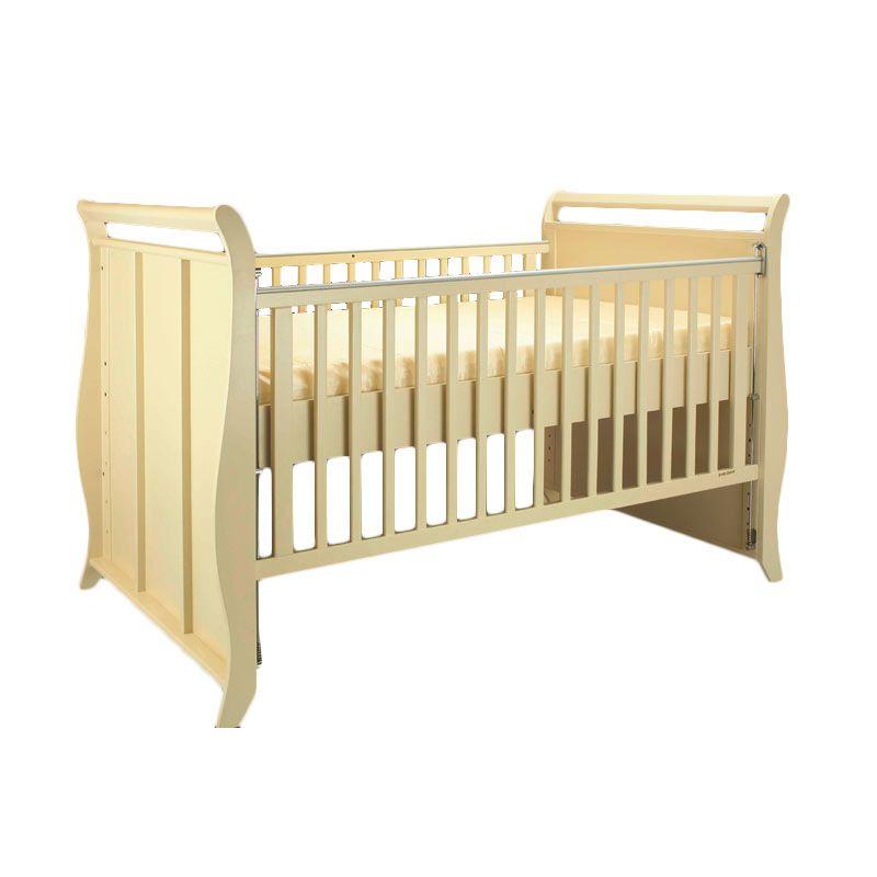 Babybelle - Victoria Crib Ivory [ Khusus Area Jabodetabek ]