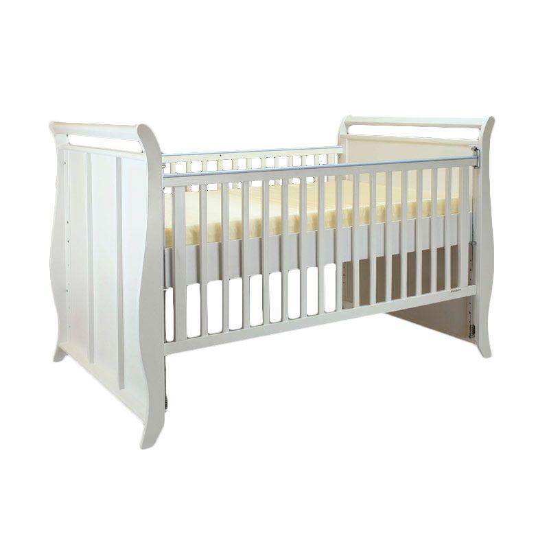 Babybelle - Victoria Crib Off White [ Khusus Area Jabodetabek ]