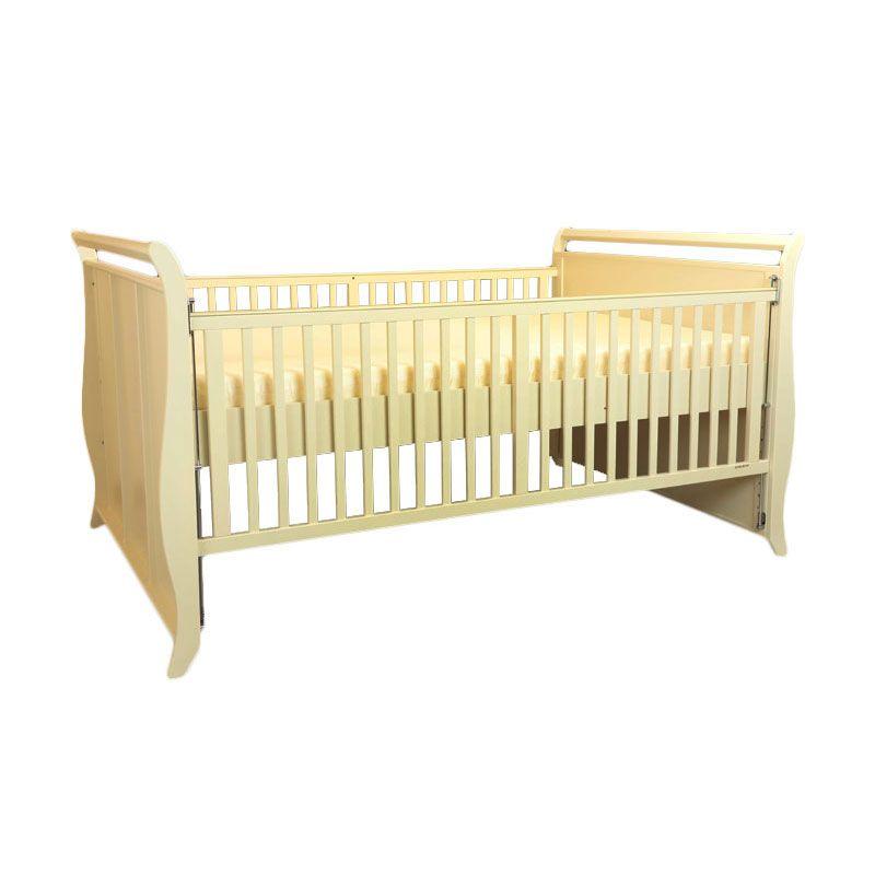 Babybelle - VictoriaExtra-Size Crib Ivory [ Khusus Area Jabodetabek ]