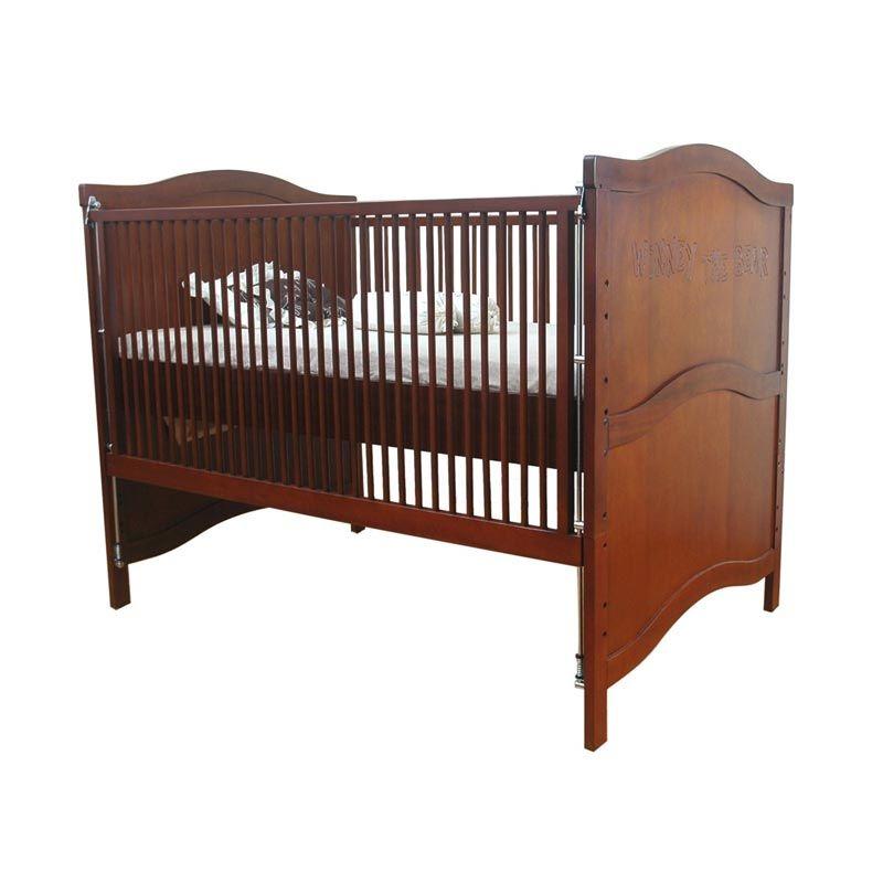 Babybelle - Winney Crib Cherry [ Khusus Area Jabodetabek ]