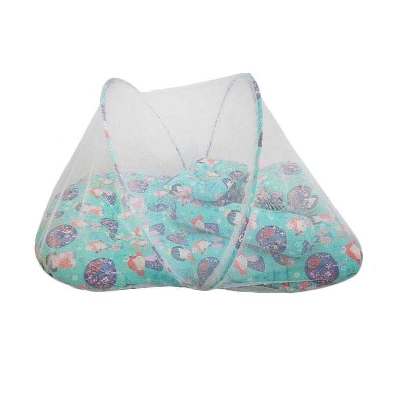 harga Babybess Kelambu Kimono Kasur Lipat - Biru Blibli.com