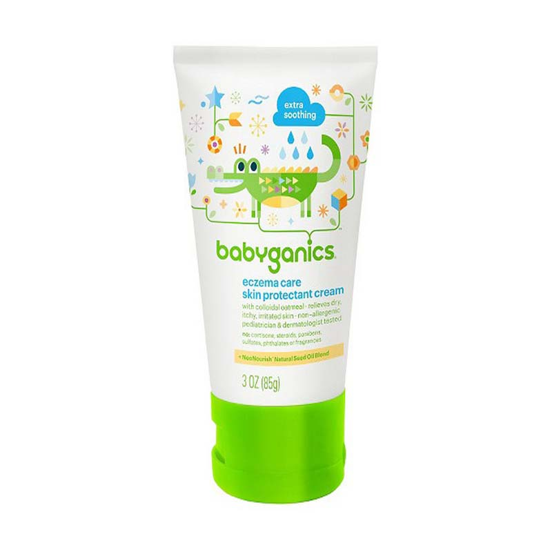 BabyGanics 108039 Eczema Care Skin Cream [85 g]