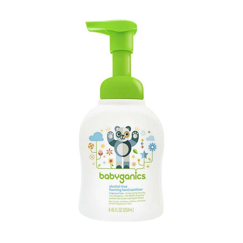 BabyGanics Foaming Free Fragrance 108025 Hand Sanitizer [250 mL]