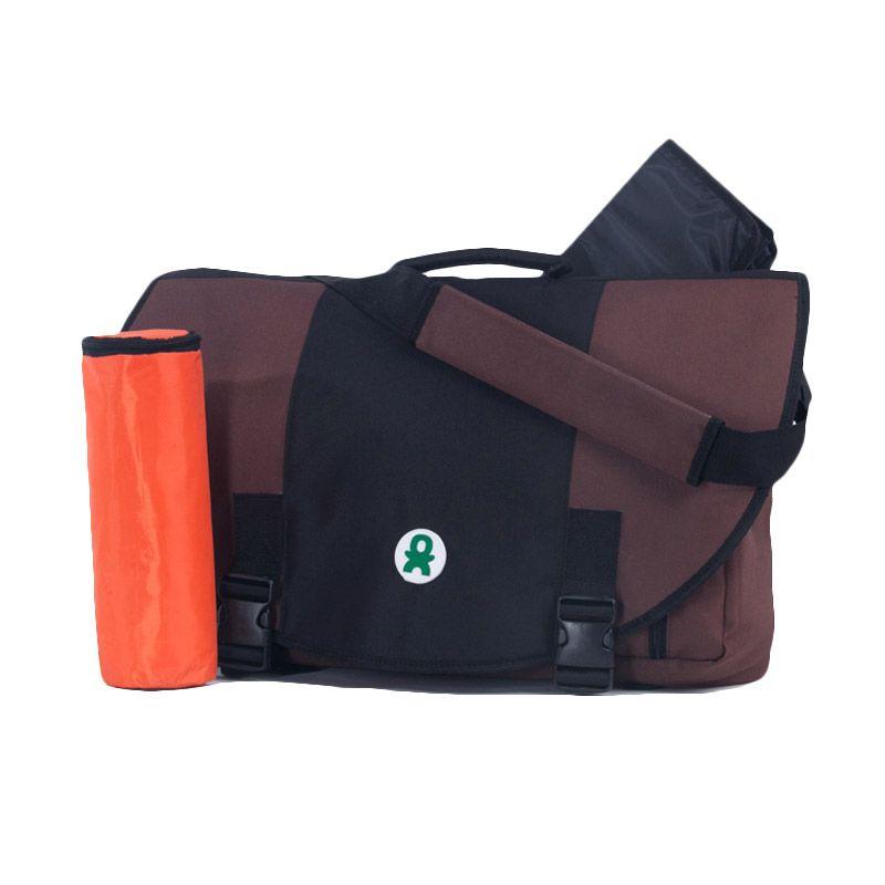 babyGO inc 103 Brown Messenger Bag