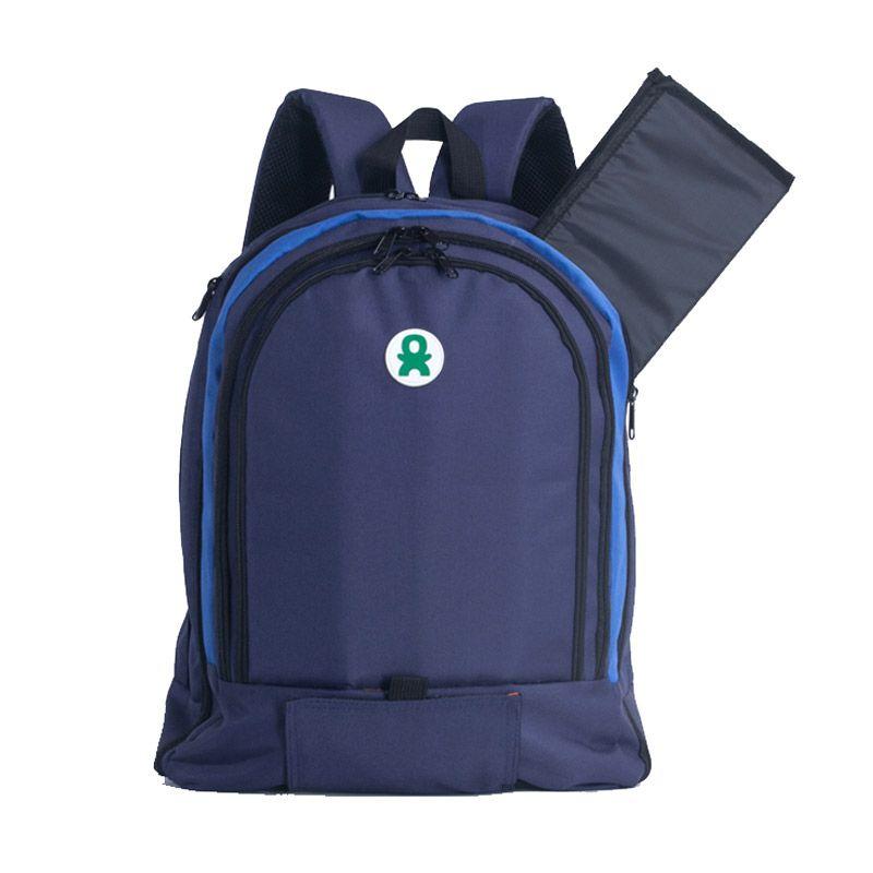 babyGO inc 303 Navy blue Backpack
