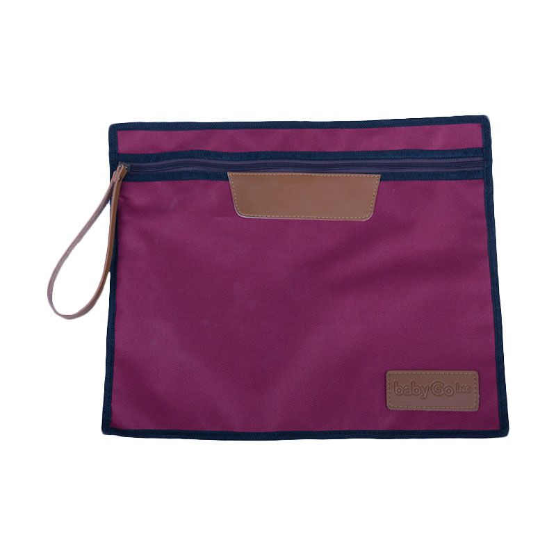 BabyGO inc A301 Purple Pouch Organiser