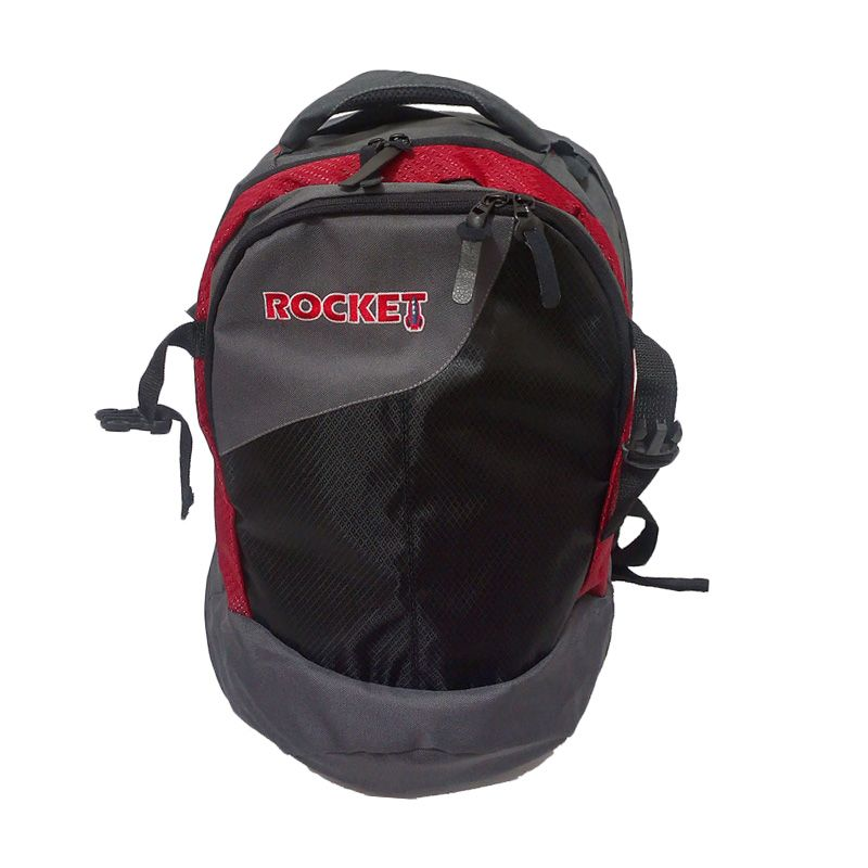 Rocket Ransel BEI Red Tas Laptop