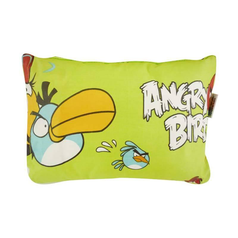 Baby Hai Bantal Kepala Angry Bird Green