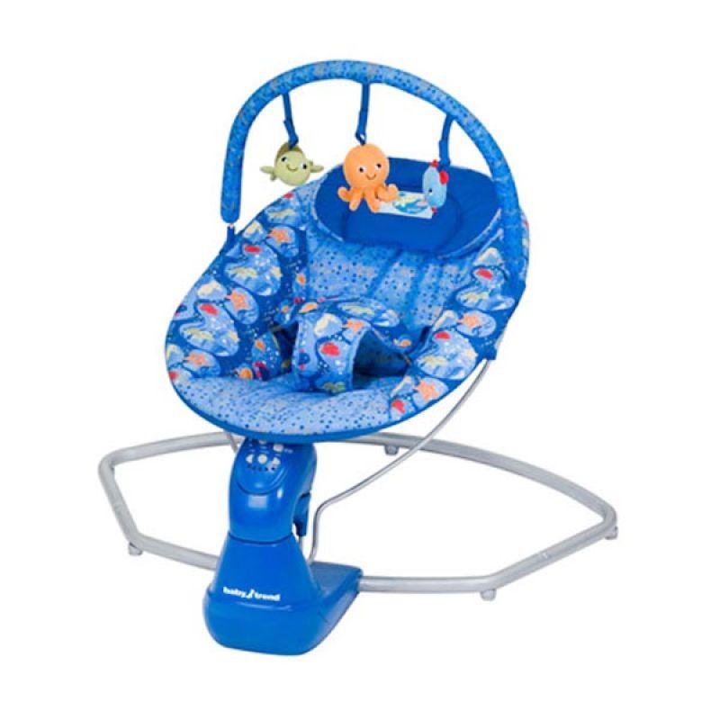 Baby Trend Swing Bouncer Blue