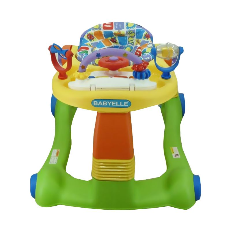 Babyelle BE 0188 Yellow Green Baby Walker