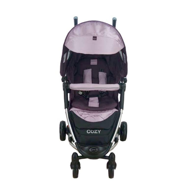Babyelle Cozy TS Purple Kereta Dorong Bayi