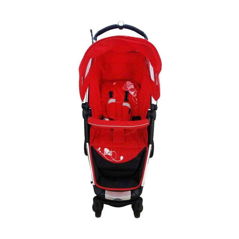 Babyelle Echo Red Kereta Dorong Bayi