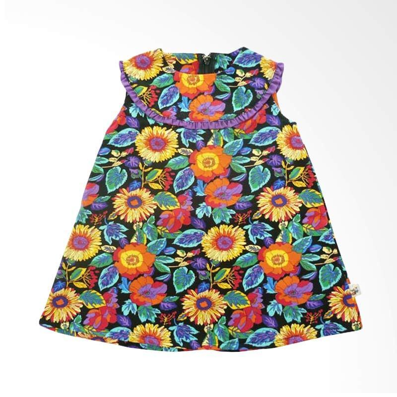 Babylon A Flowery Lot 13 Ungu Dress Anak