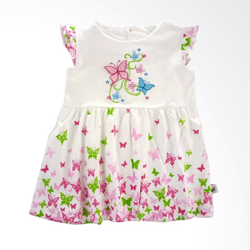 Babylon Butterfly Pink Dress Anak
