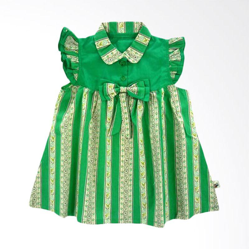 Babylon Dress Little Belle Hijau