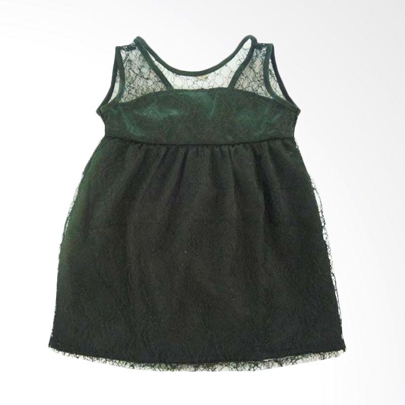 Babylon My Girl Black Dress Anak
