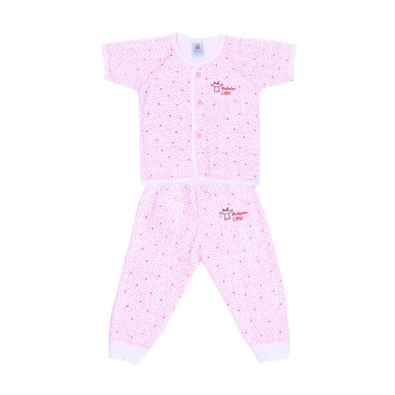 Babylon Rip Cow Pink Set Pakaian Anak
