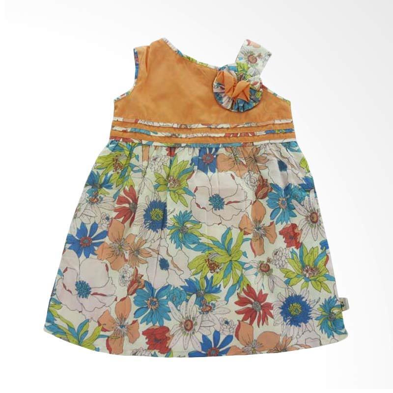 Babylon Rosalinda 2 Lot 5 Orange Dress Anak