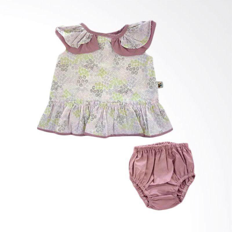 Babylon Tropical Breeze Purple Setelan Anak Perempuan