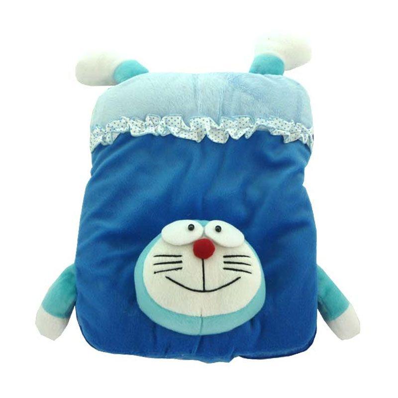 Babylonish Doraemon Blue Selimut Bayi