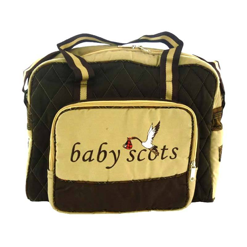 BabyScots Tas Bordir Type 4 Coklat