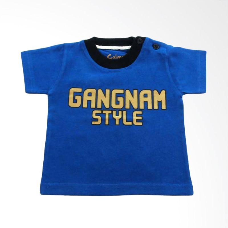 Calmet Kaos Kreatif Pendek Gangnam Style Biru