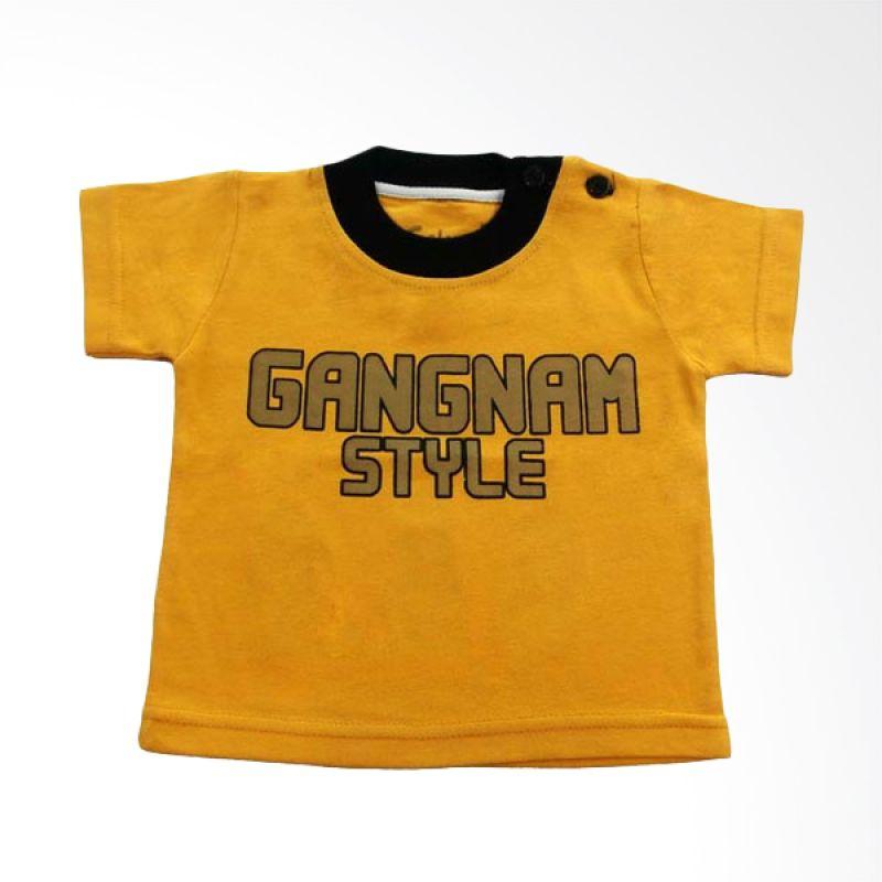 Calmet Kaos Kreatif Pendek Gangnam Style Kuning