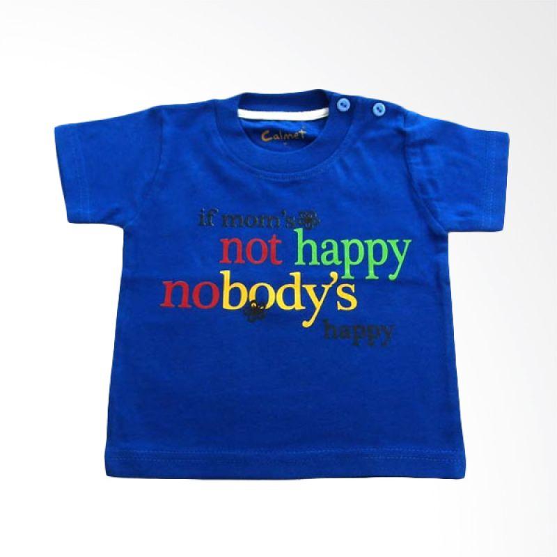 Calmet Kaos Kreatif Pendek If Mom's Not Happy Biru