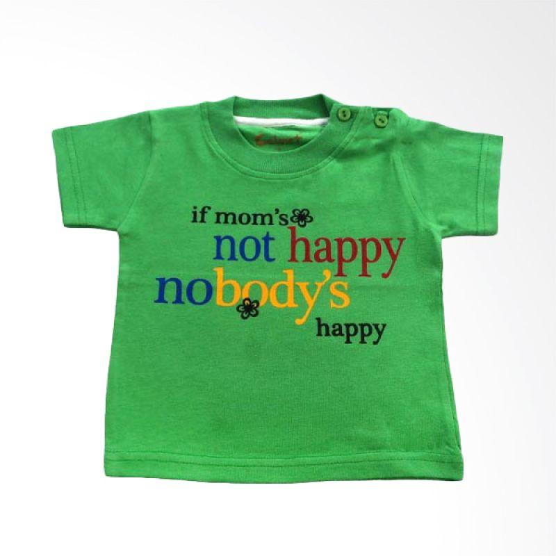 Calmet Kaos Kreatif Pendek If Mom's Not Happy Hijau