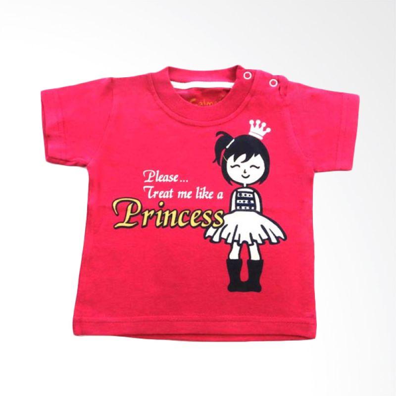 Calmet Kaos Kreatif Pendek Princess Pink