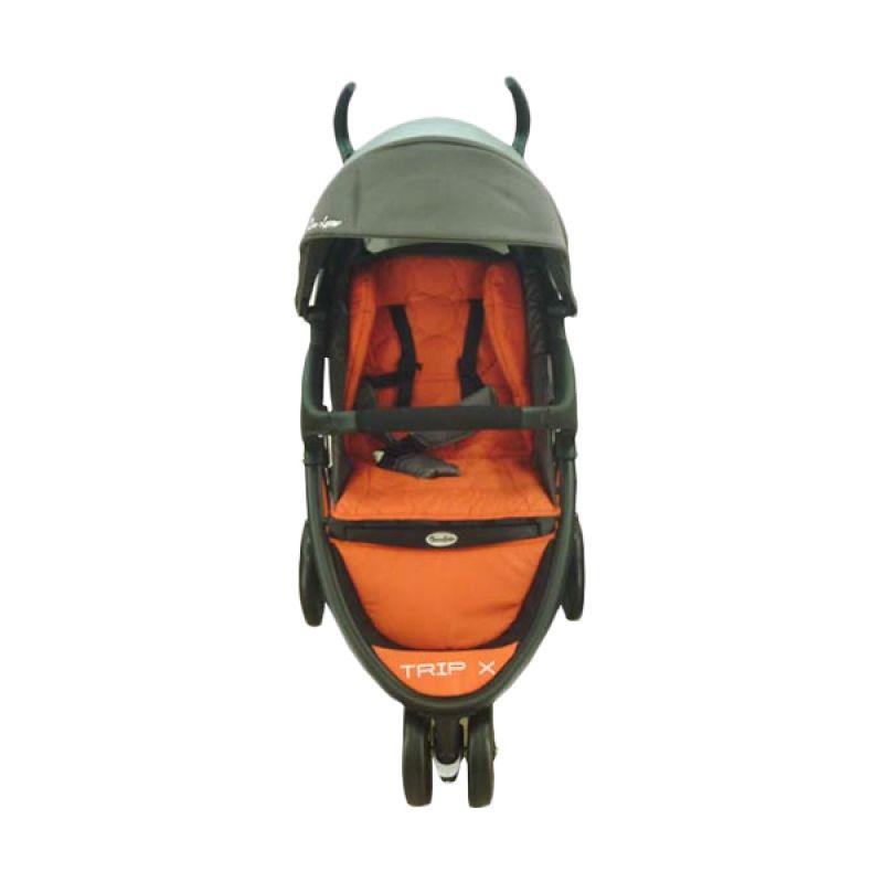 Cocolatte Trip X CL 900 Orange Kereta Dorong Bayi