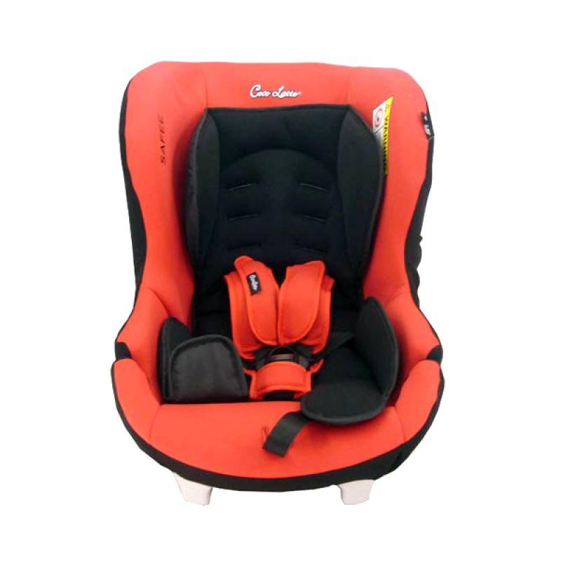 Cocolatte Safee CS810 E Red Car Seat Kursi Mobil Bayi
