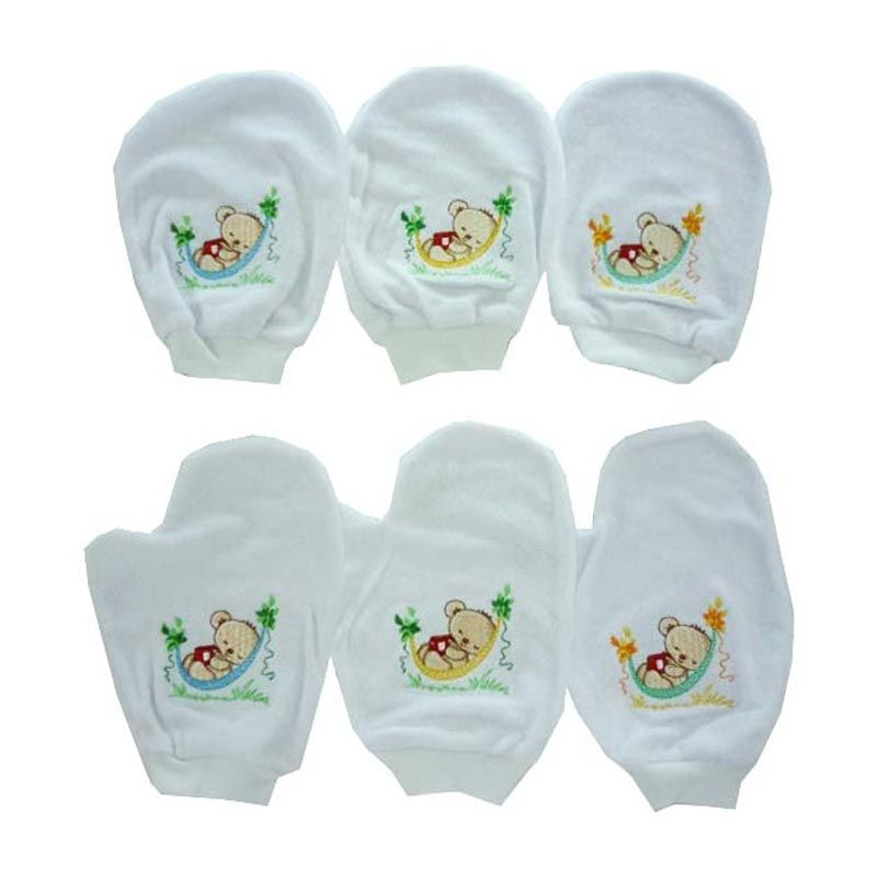Costly Sleeping Bear Multicolour Waslap Bayi