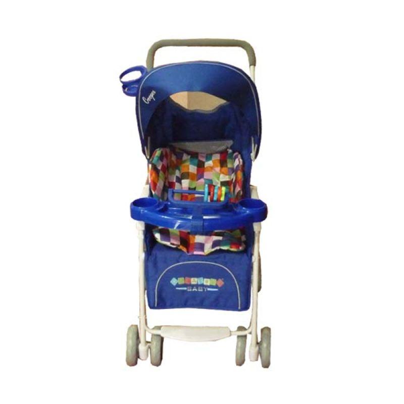 Creative Stroller Cooper Royal Blue Kereta Dorong Bayi
