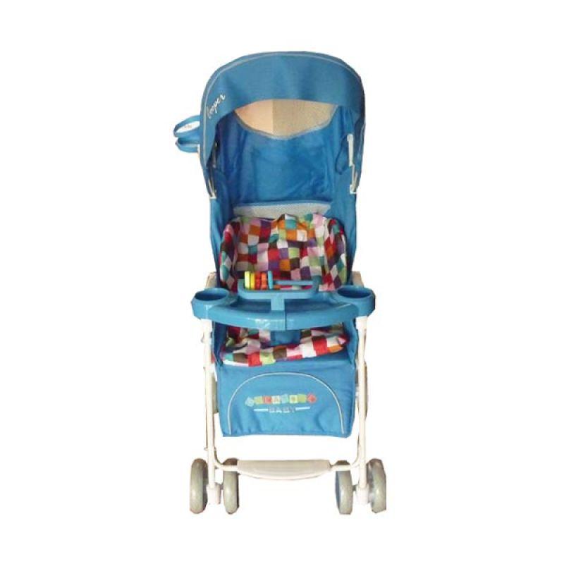 Creative Stroller Cooper Light Blue Kereta Dorong Bayi