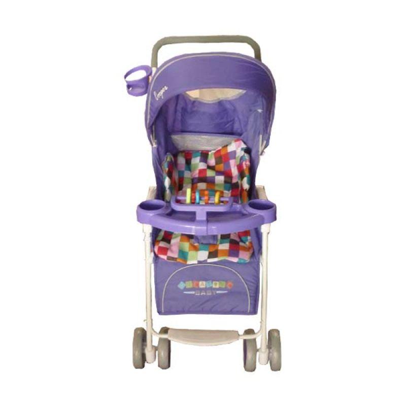 Creative Stroller Cooper Purple Kereta Dorong Bayi