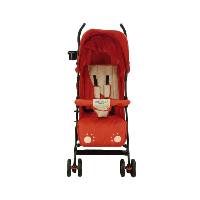 Creative Breeze 178 Red Kereta Dorong Bayi