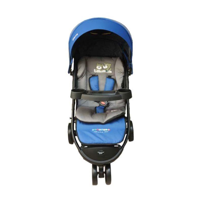 Creative Stroller Sierra Blue Kereta Dorong Bayi