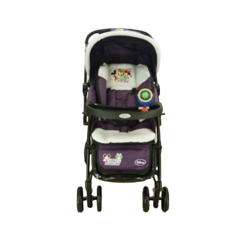 Disney BS 508 Purple Kereta Dorong Bayi