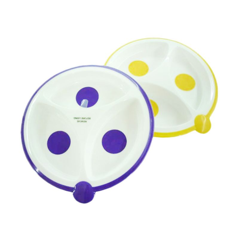 Dr.Brown's Divided Plates - 2 Pcs