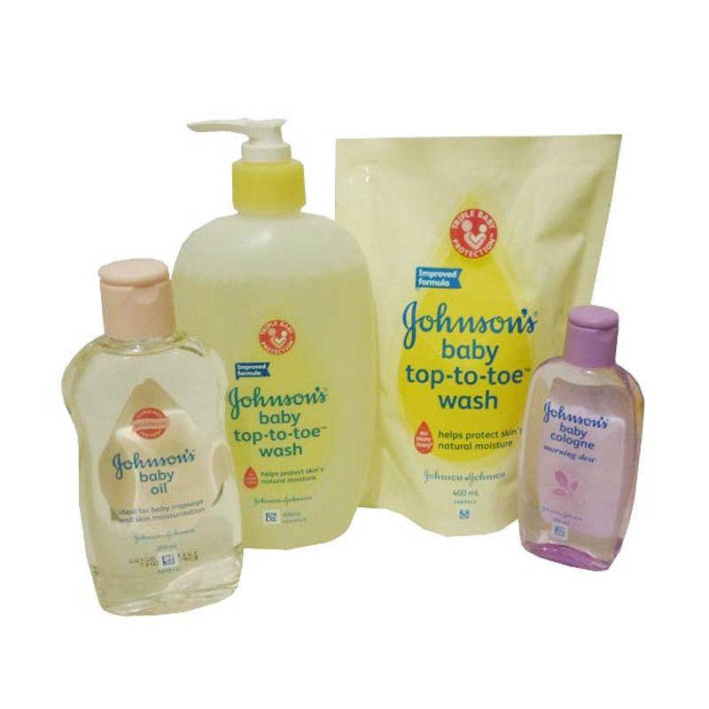 Johnson's Baby Paket 3 Set Mandi Bayi