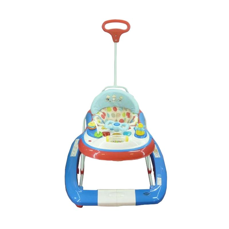 Pliko 3198 T Red Blue Baby Walker