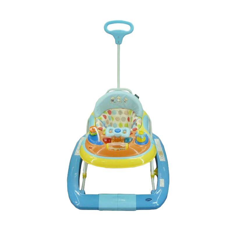 Pliko 3198 T Yellow Blue Baby Walker