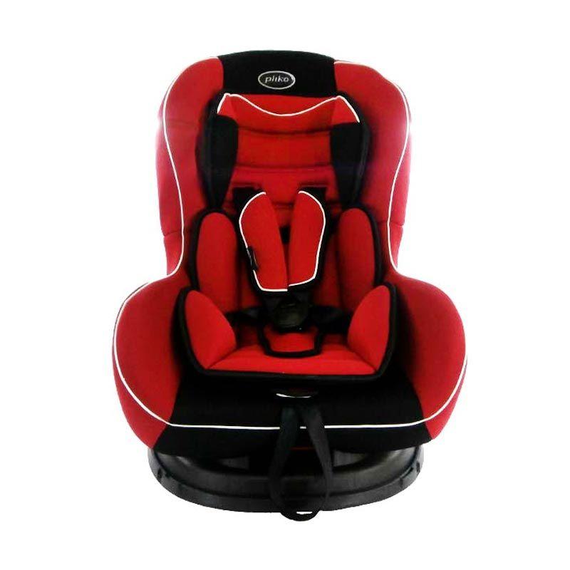 Pliko Carseat 717B Red - Kursi Mobil Bayi