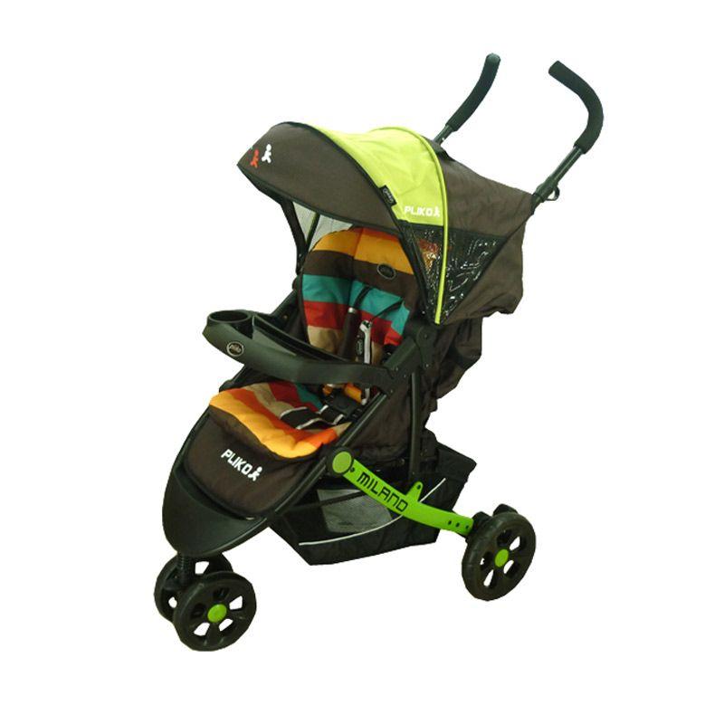 Pliko Milano 586 Green Stroller Kereta Dorong Bayi