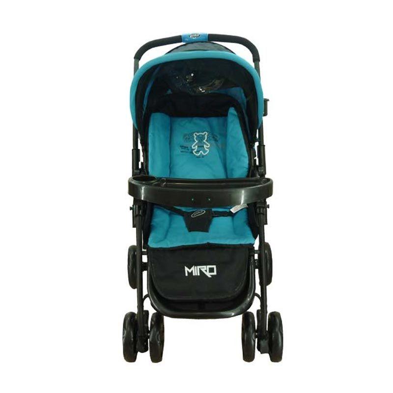 Pliko Miro 507 Blue Kereta Dorong Bayi