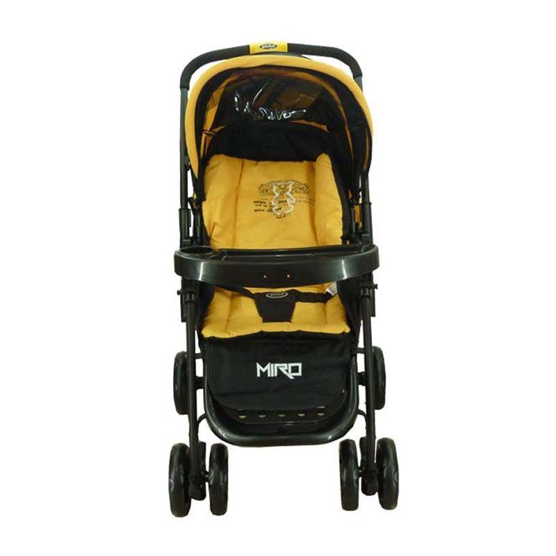 Pliko Miro 507 Yellow Kereta Dorong Bayi