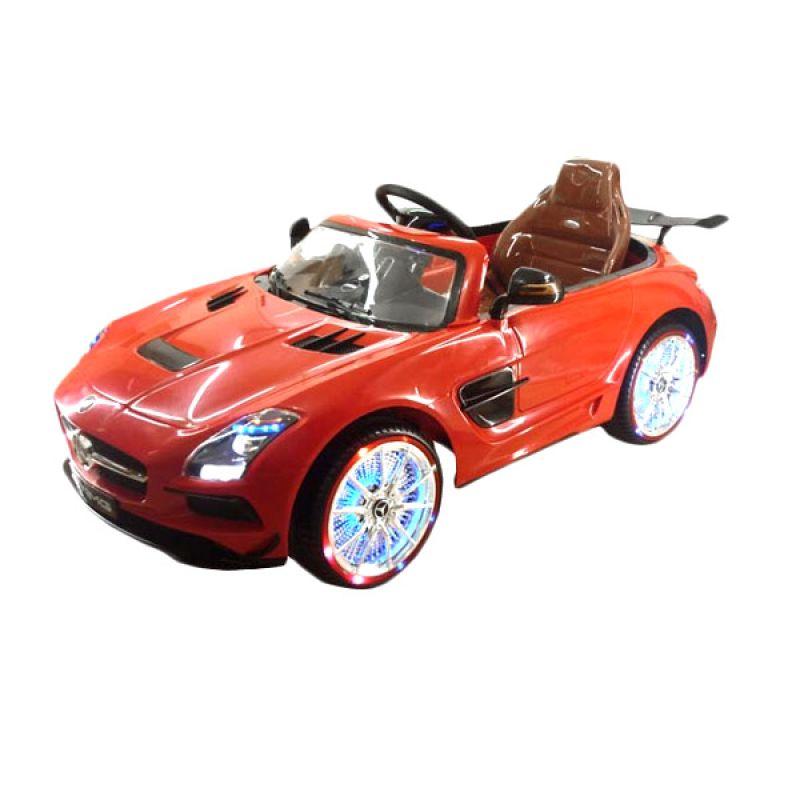 Pliko PK 1838 Mobil Mercy SLS AMG Red Mainan Anak